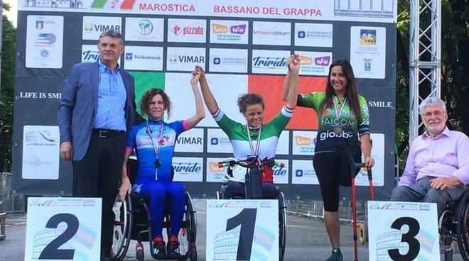 Lorena Ziccardi podio