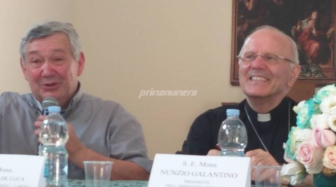 Monsignore De Luca e Galantino