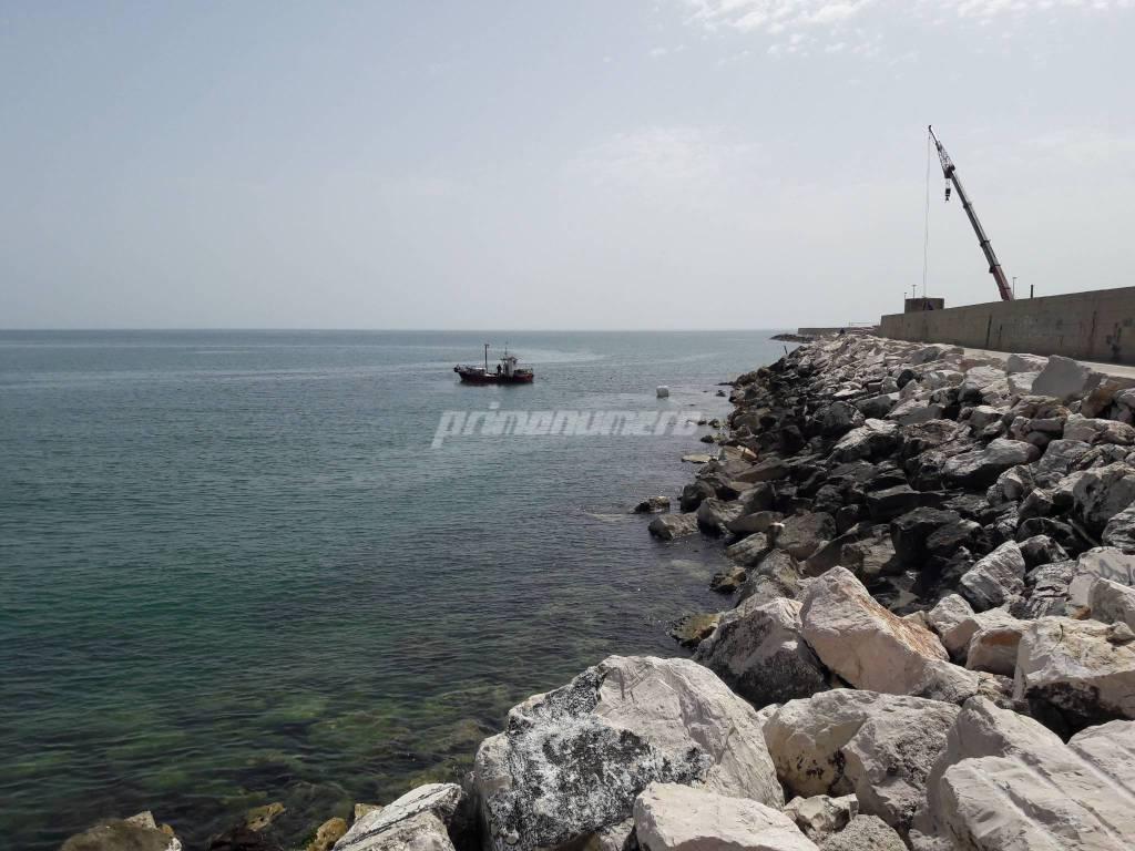 Sommozzatori depuratore condotta porto Termoli