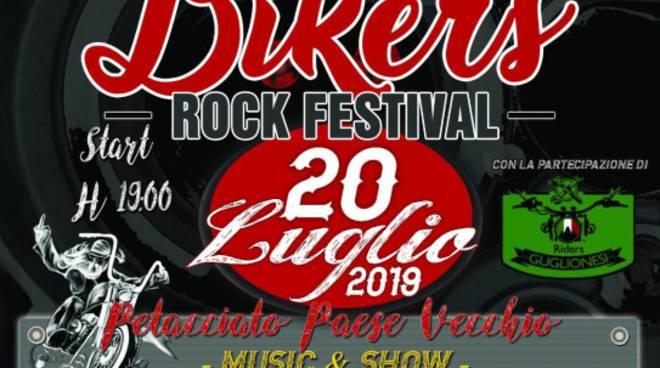 Bikers rock festival