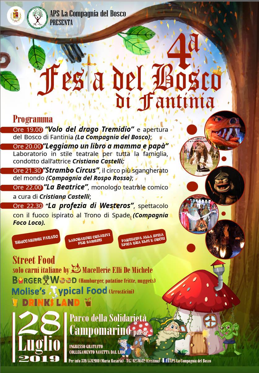 4a FESTA DEL BOSCO DI FANTINIA
