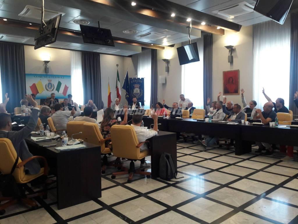 Consiglio comunale sanità termoli
