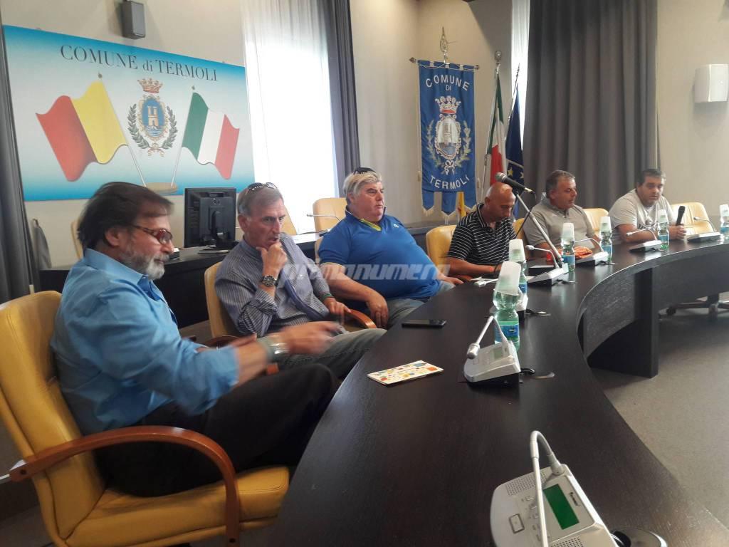 Dirigenza Termoli presidente Di Girolamo Allenatore Rufini