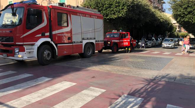incidente corso transenna