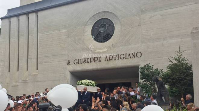 Gianmarco di Vico funerali