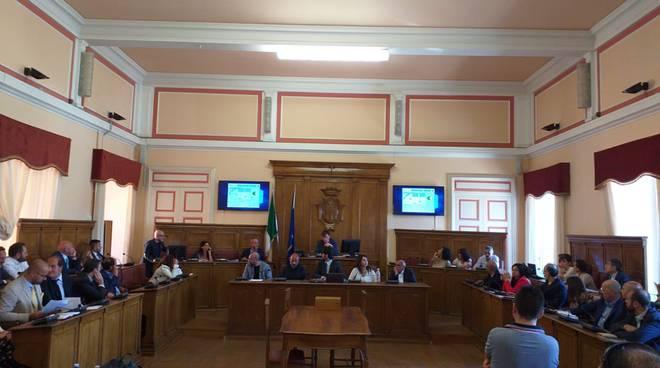 consiglio comunale Campobasso M5S 1 luglio 2019
