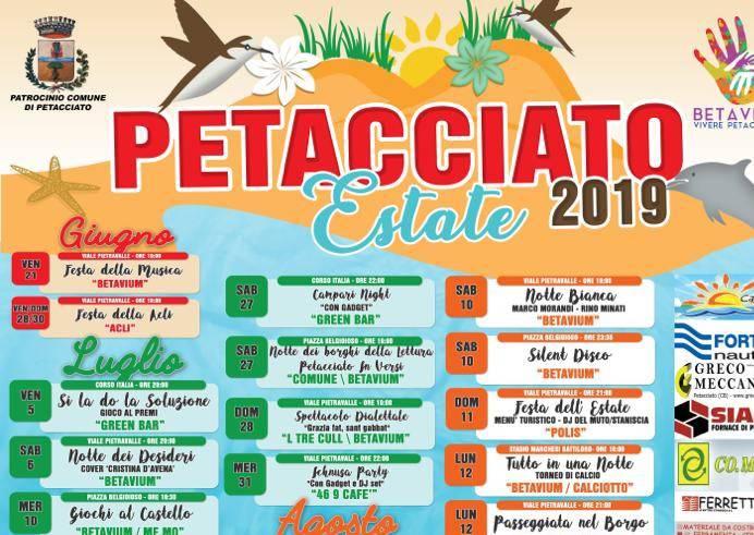 Estate 2019 Petacciato