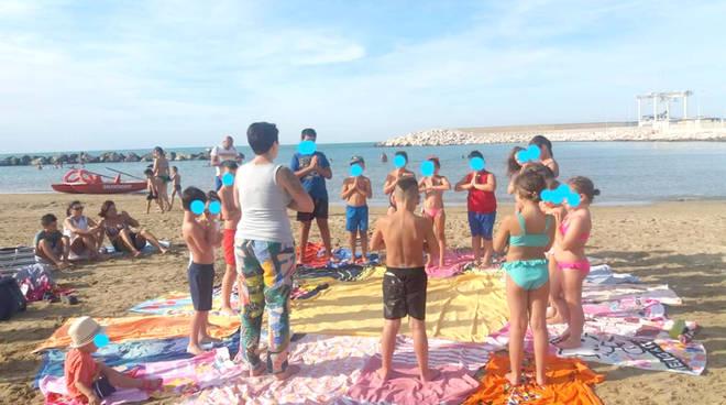 educare in riva al mare