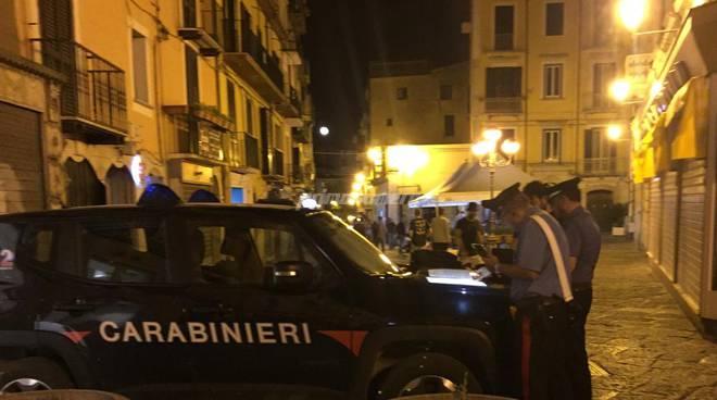 Carabinieri movida Via Ferrari