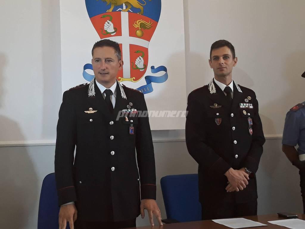 Gaeta e Felici Carabinieri Campobasso