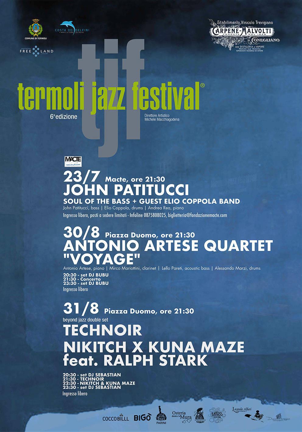locandina Termoli jazz festival