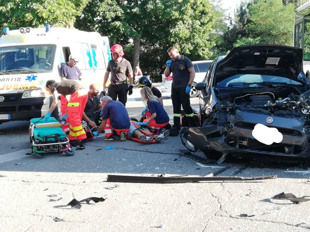 incidente auto e circolare