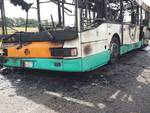 Autobus Gtm in fiamme