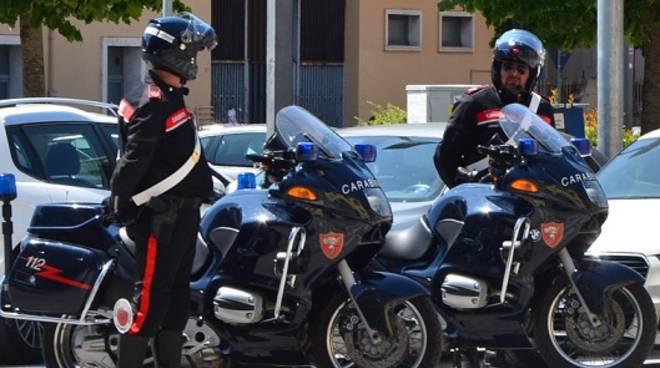 carabinieri moto e varie