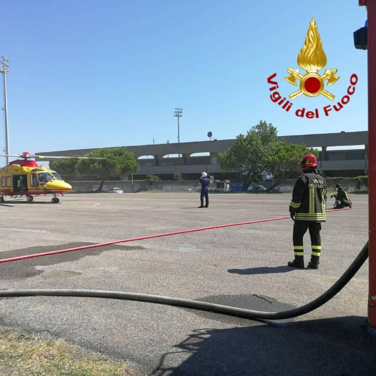 Elicottero trasporto feriti