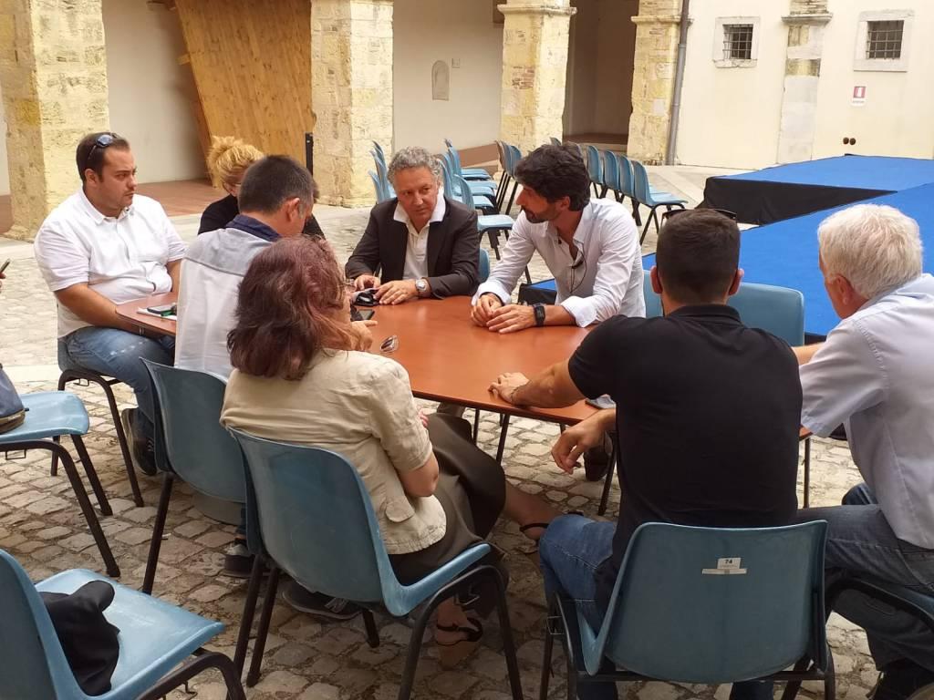 Gravina incontra sindaci per linea Termoli Campobasso
