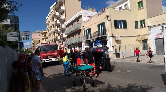 incidente via molise
