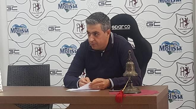 Marco Colaizzo presidente Agnonese