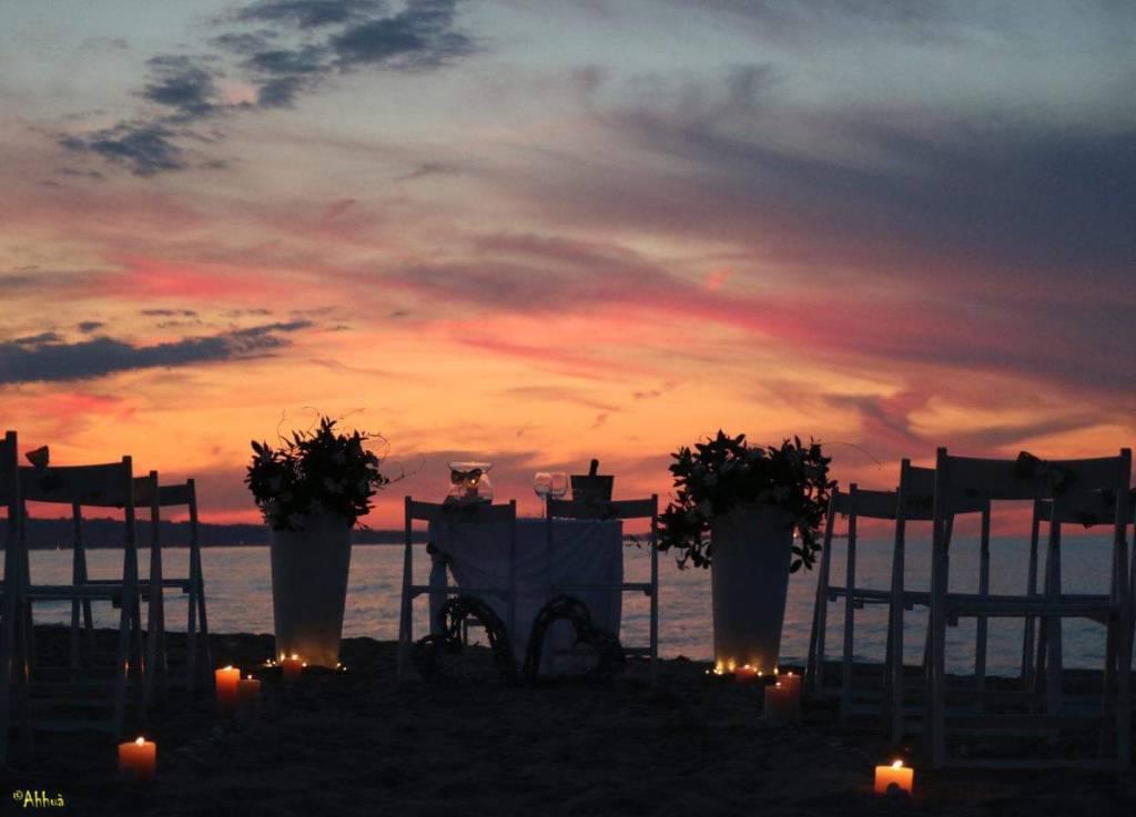 Matrimonio in spiaggia Lido Eva