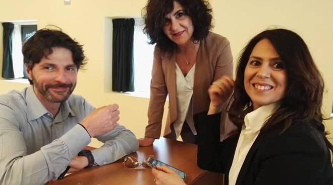 Roberto Gravina e Paola Felice