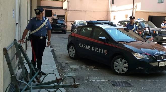 Carabinieri cancello