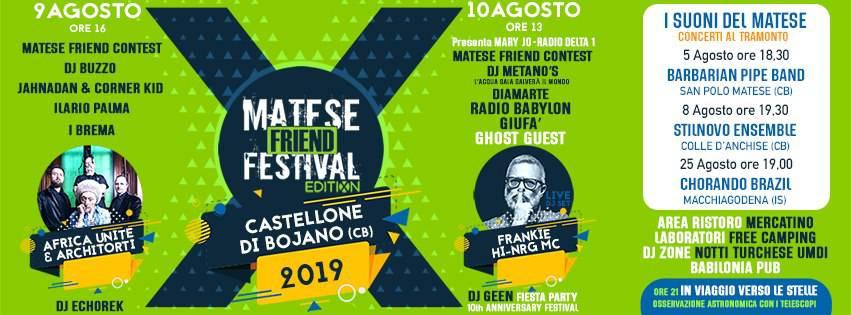 matese friend festival