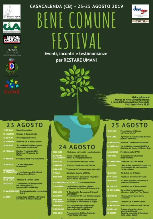festival beni comuni