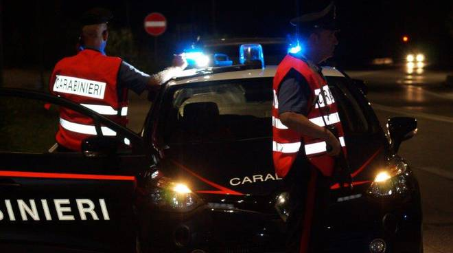 carabinieri Campobasso notte