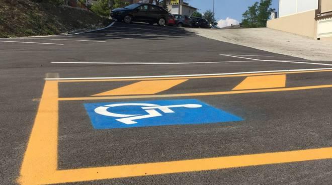 parcheggi disabili Vazzieri