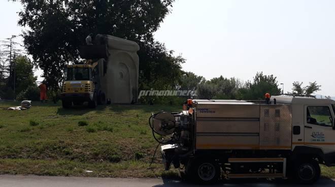 statua largo Carile Campobasso