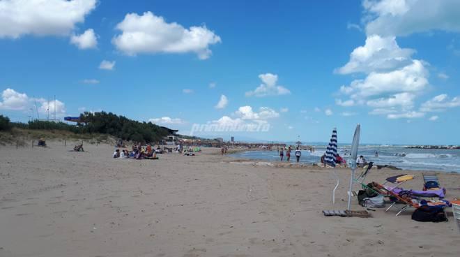 Spiagge a ferragosto
