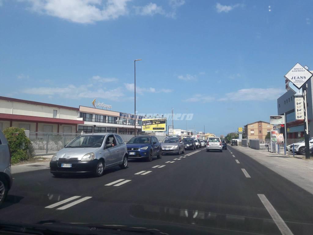 Traffico via Corsica