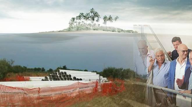 collage isola acquedotto