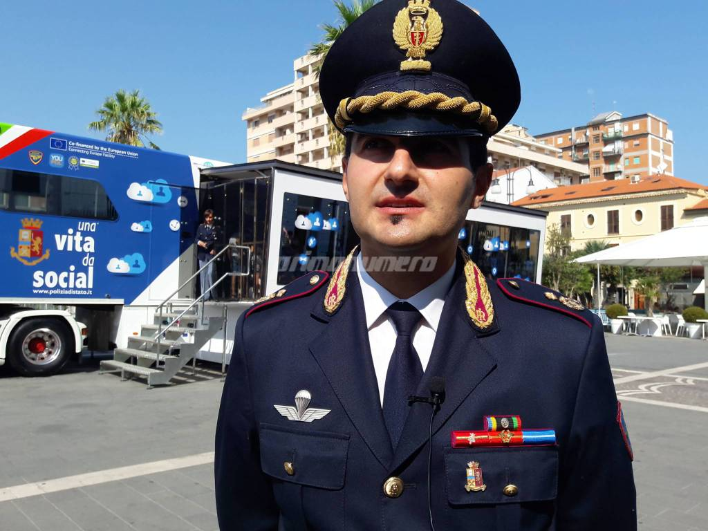 Polizia postale una vita da social dirigente Di Giuseppe