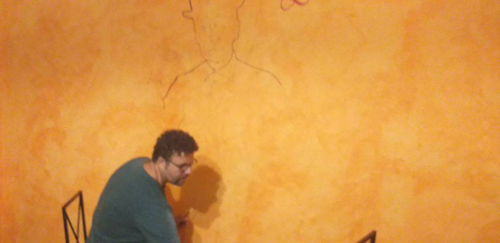 totò murale a campomarino
