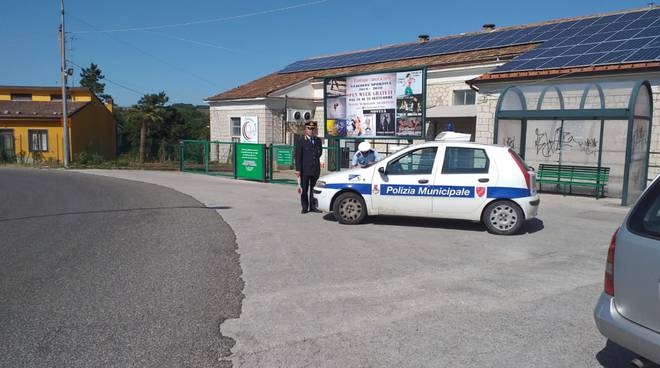 polizia municipale riccia