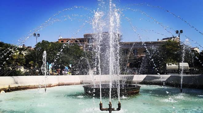 fontana piazza Municipio Campobasso