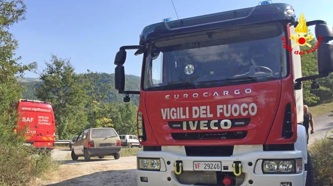 vigili del fuoco bosco Riccia Gambatesa