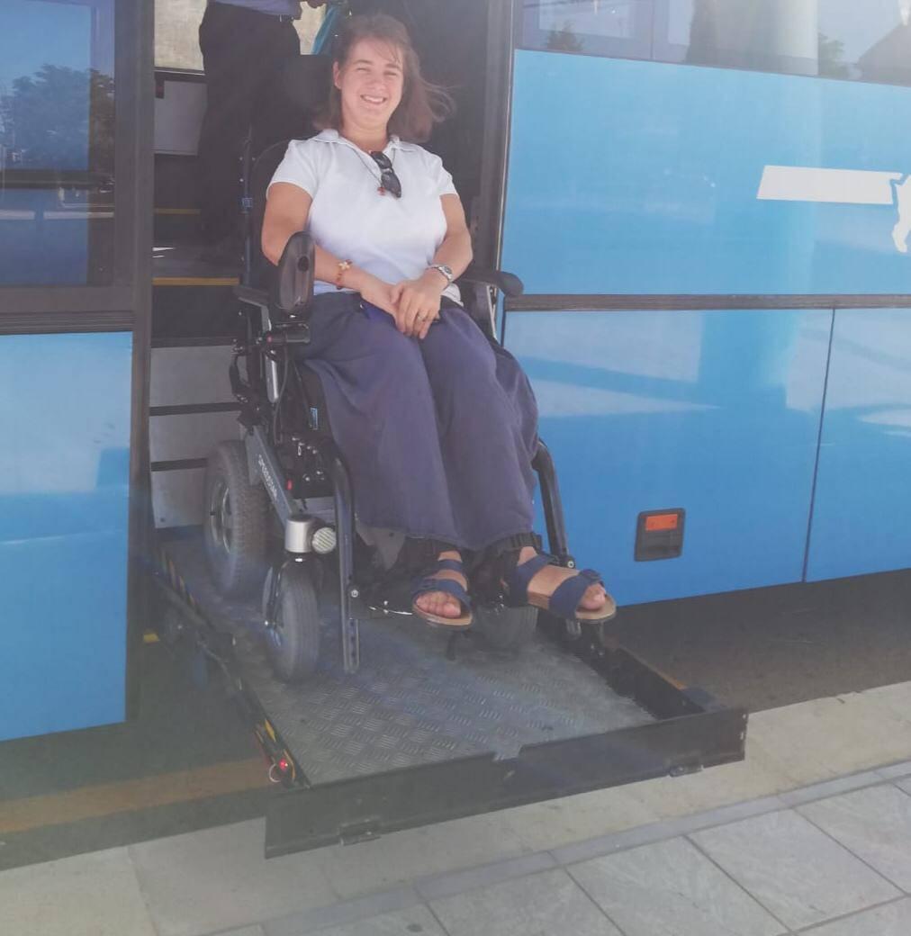 arianna ragazza disabile
