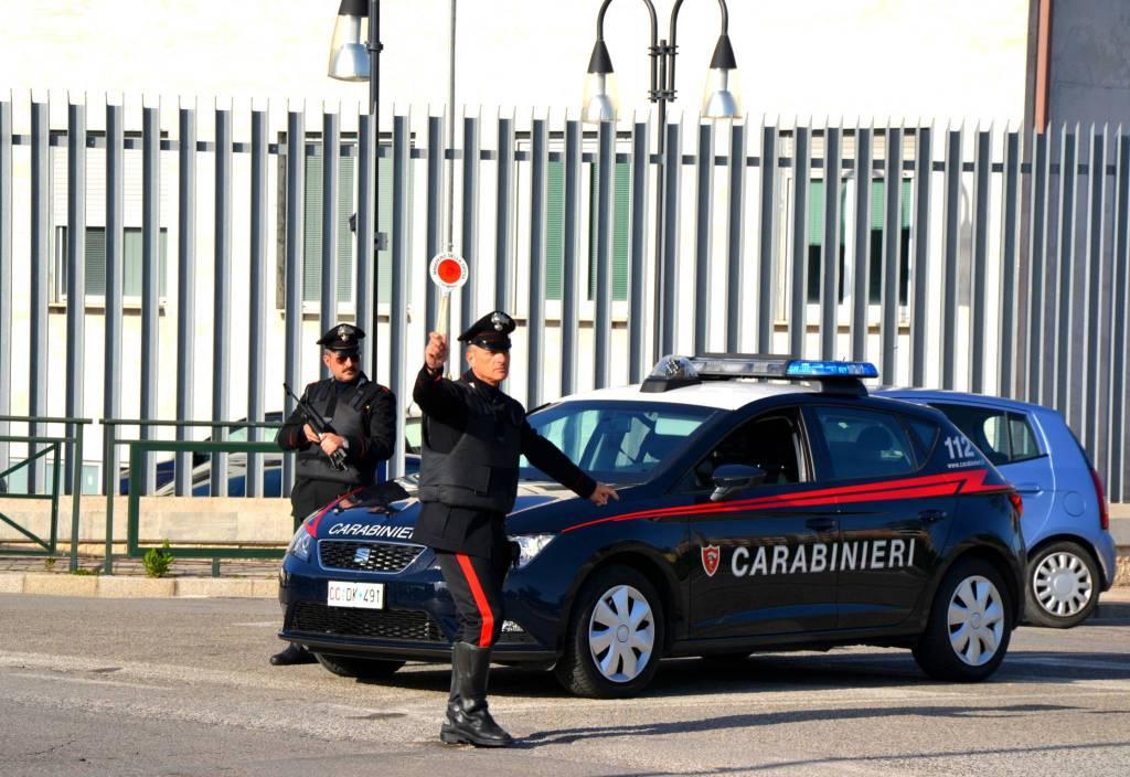carabinieri posto di blocco Termoli