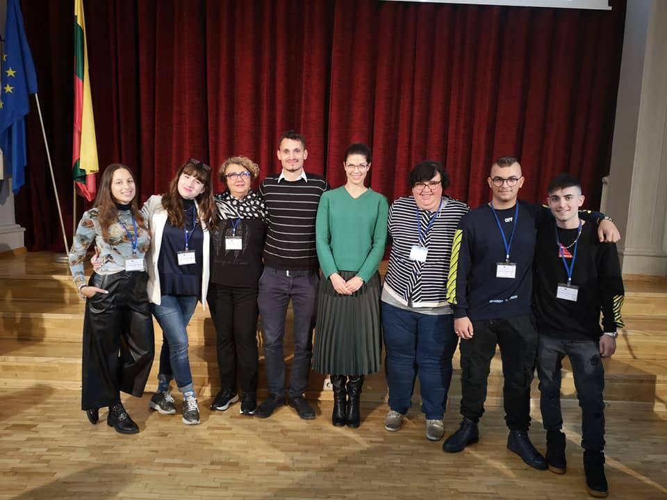 L\'IPSIA di Montenero di Bisaccia è volato in Lituania