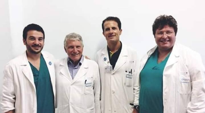 equipe neurochirurgica gemelli