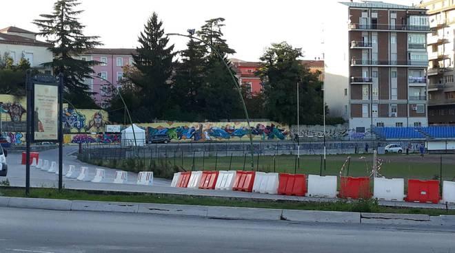Rally stadio Romagnoli Campobasso