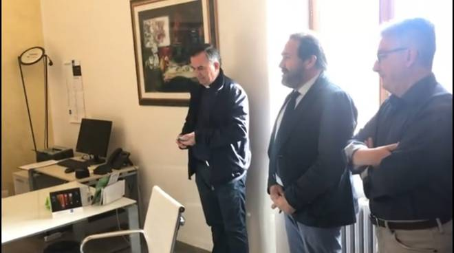 don gianfranco lalli e sindaco bellotti