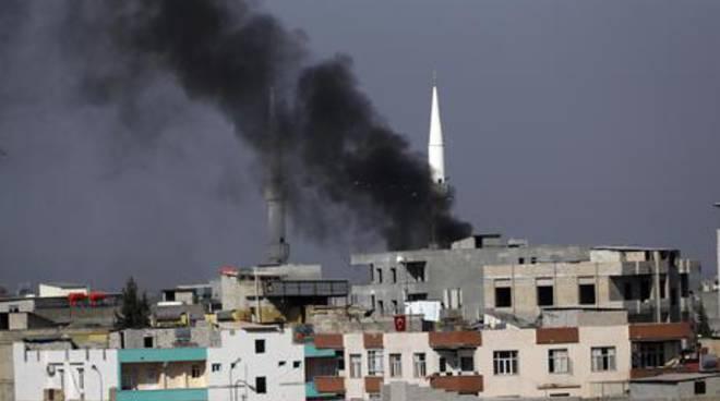 attacco al nord siria
