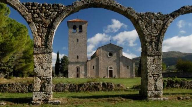 abbazia san vincenzo al volturno ph Mibact
