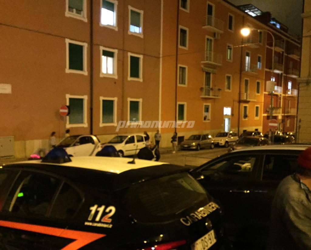 bomba Campobasso Carabinieri vigili del fuoco