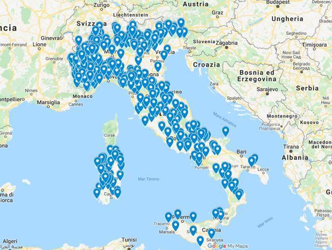 italia senza campo