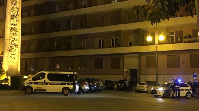 vigili urbani Campobasso notte