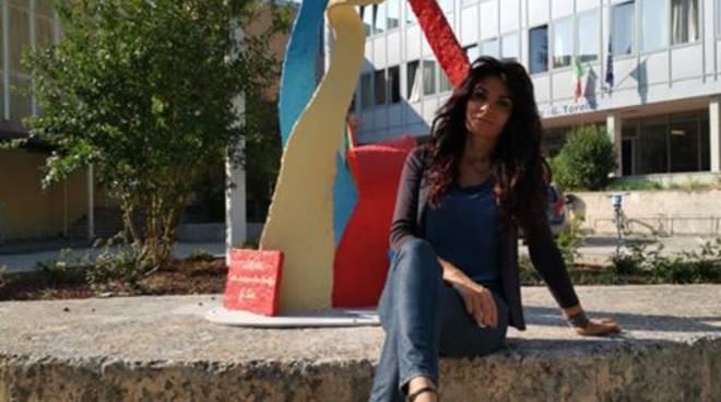 Ylenia paladino e scultura a fano